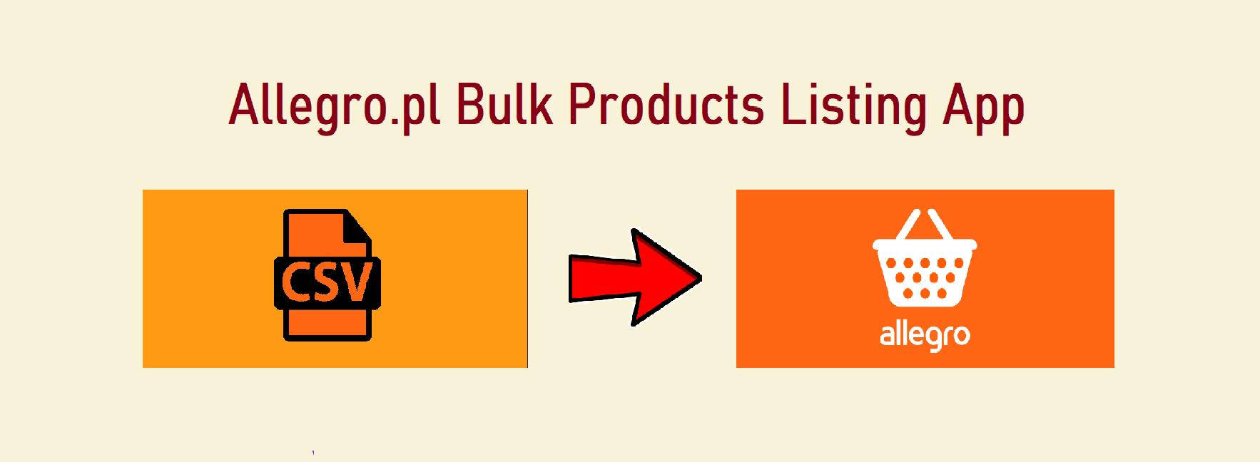 Allegro.pl Bulk Products Listing App